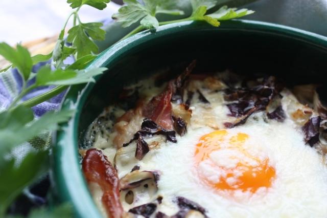 Italian baked eggs 006