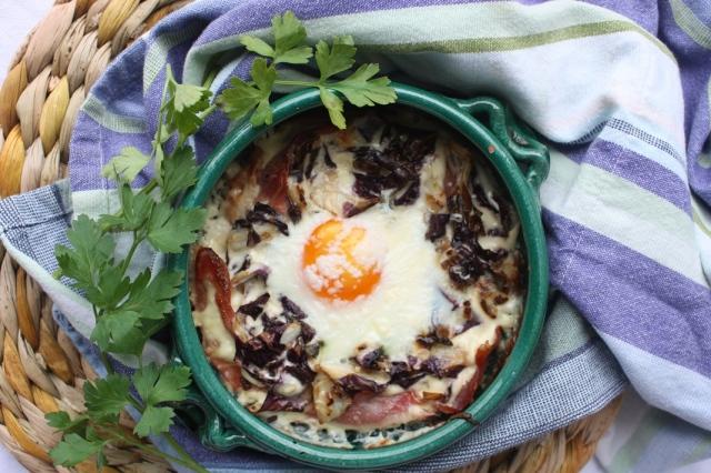 Italian baked eggs 012