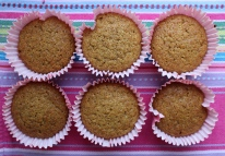 Carrot spelt cup cakes 004
